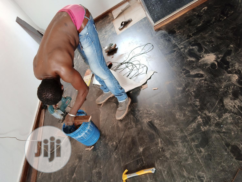 Wooden Floor Tiles Vinyl | Building Materials for sale in Owerri, Imo State, Nigeria