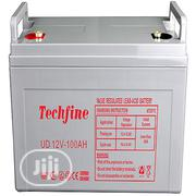 Techfine 12V 100AH Battery | Solar Energy for sale in Lagos State, Victoria Island