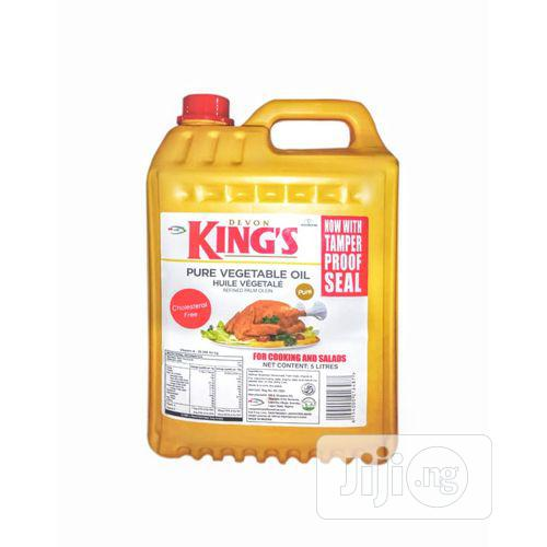 Devon King's Pure Vegetable Oil - 5L