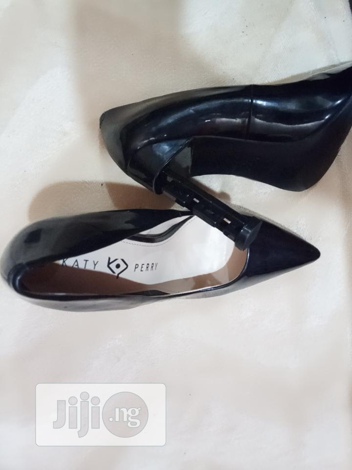 Katy & Perry Black Office Shoe