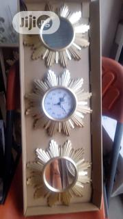 Wallclock With Mirror Sets | Home Accessories for sale in Lagos State, Lagos Island