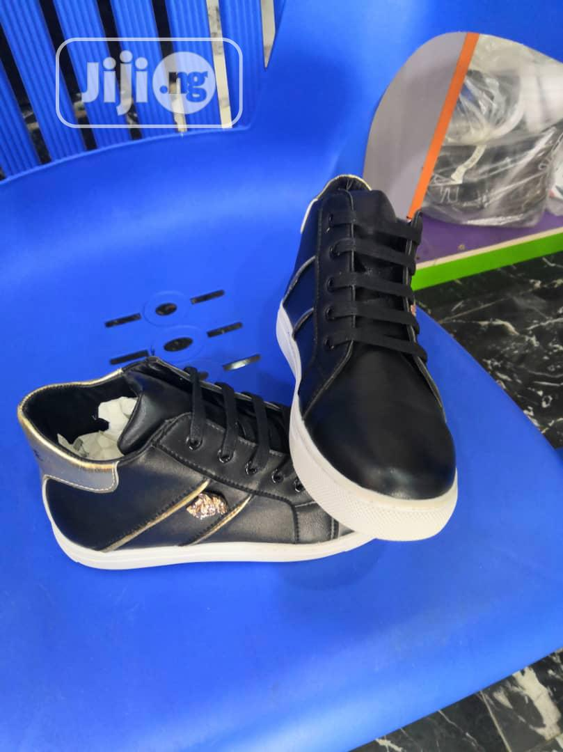 Versace Hi Top Sneakers | Children's Shoes for sale in Surulere, Lagos State, Nigeria