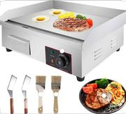 Stainless Steel Electric Griddle Commerical | Kitchen Appliances for sale in Lagos State, Lagos Island