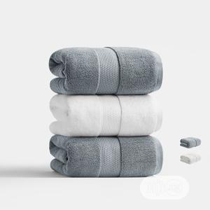 White And Gray Towel   Home Accessories for sale in Lagos State, Lagos Island (Eko)