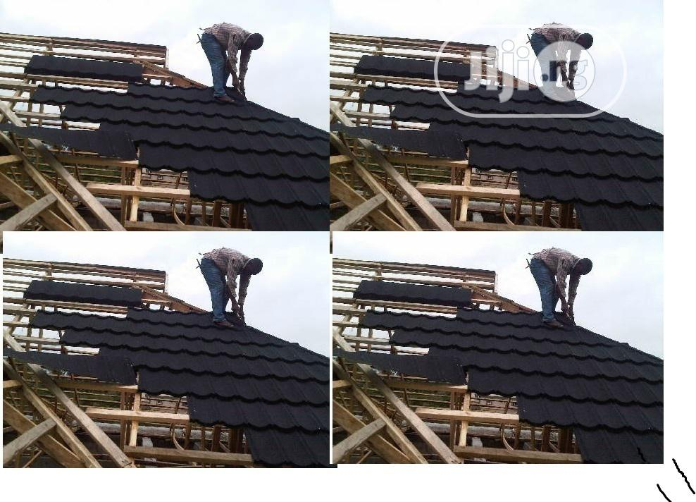 Stone Coated Roofing Sheet From Mr Donald Roof | Building & Trades Services for sale in Ajah, Lagos State, Nigeria