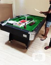 8feet Snooker Board With Complete Accessories | Sports Equipment for sale in Lagos State, Victoria Island