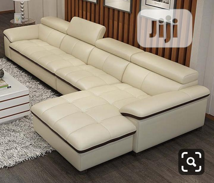 Sofa Leather Chair L-Shape