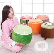 Inflatable Thickening Stool Plush 3D Fruit Pouf Chair   Furniture for sale in Lagos State, Lagos Island