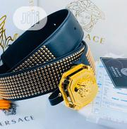 Original Versace Leather Belt for Men's | Clothing Accessories for sale in Lagos State, Lagos Island
