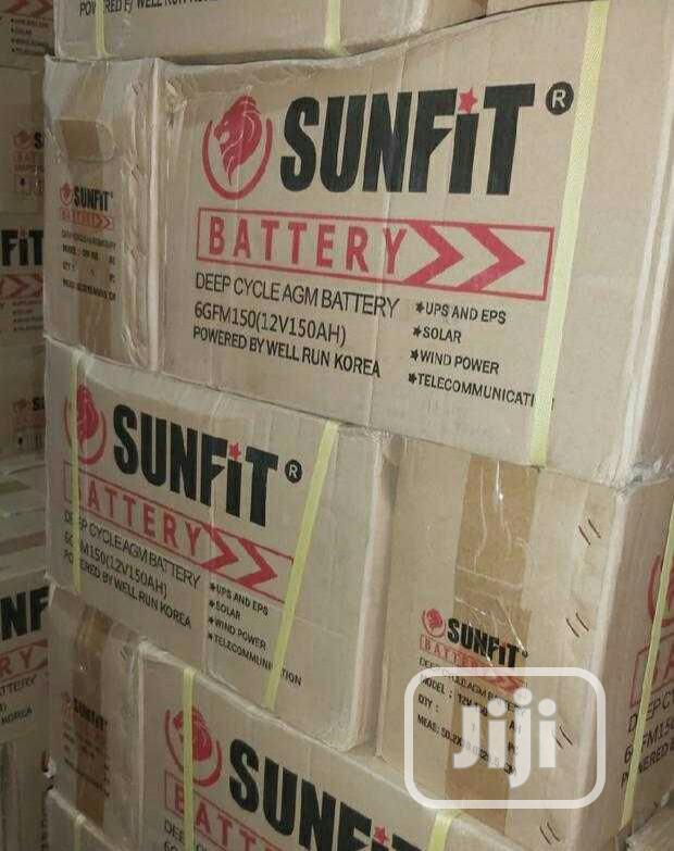150w Sunfit Battery
