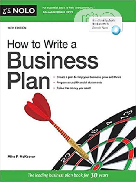 How To Write A Business Plan [E-book]