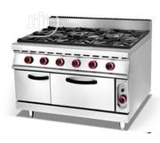 Industrial Standing 6 Burners Gas Burners With Oven. | Restaurant & Catering Equipment for sale in Lagos State, Ikeja