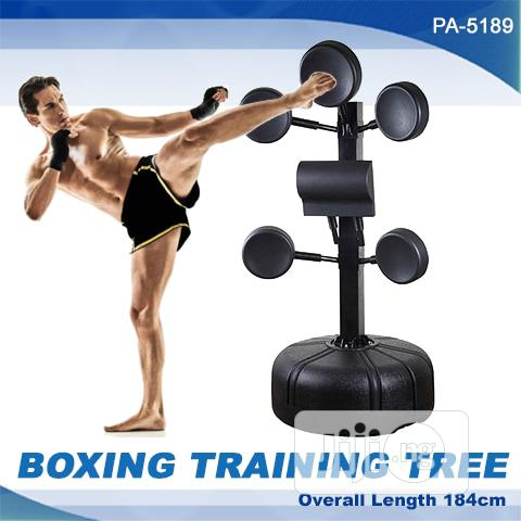 Boxing Training and Kicking Target Tree | Sports Equipment for sale in Port-Harcourt, Rivers State, Nigeria