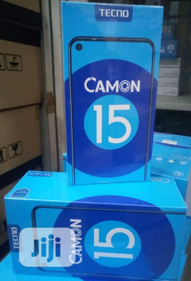 New Tecno Camon 15 64 GB Green