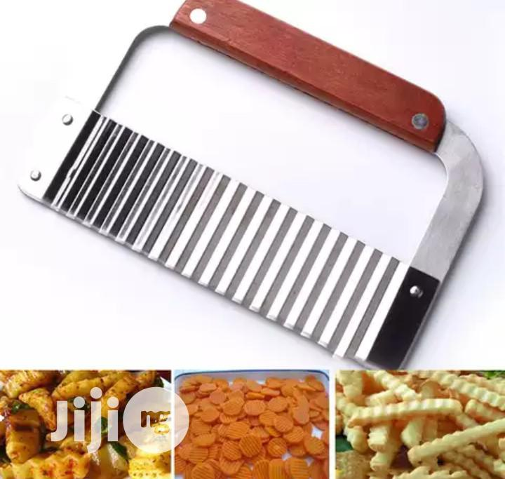 Stainless Steel Wavy Cutter | Kitchen & Dining for sale in Ikeja, Lagos State, Nigeria