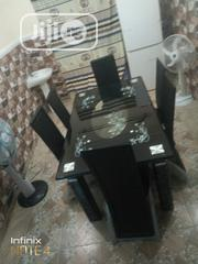 Tempered Glass Dining Table With Six Durable Chairs | Furniture for sale in Lagos State, Ikotun/Igando