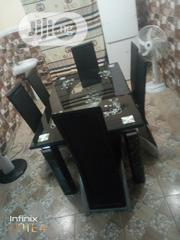 Tempered Glass Dining Table With Six Chairs | Furniture for sale in Lagos State, Ojodu
