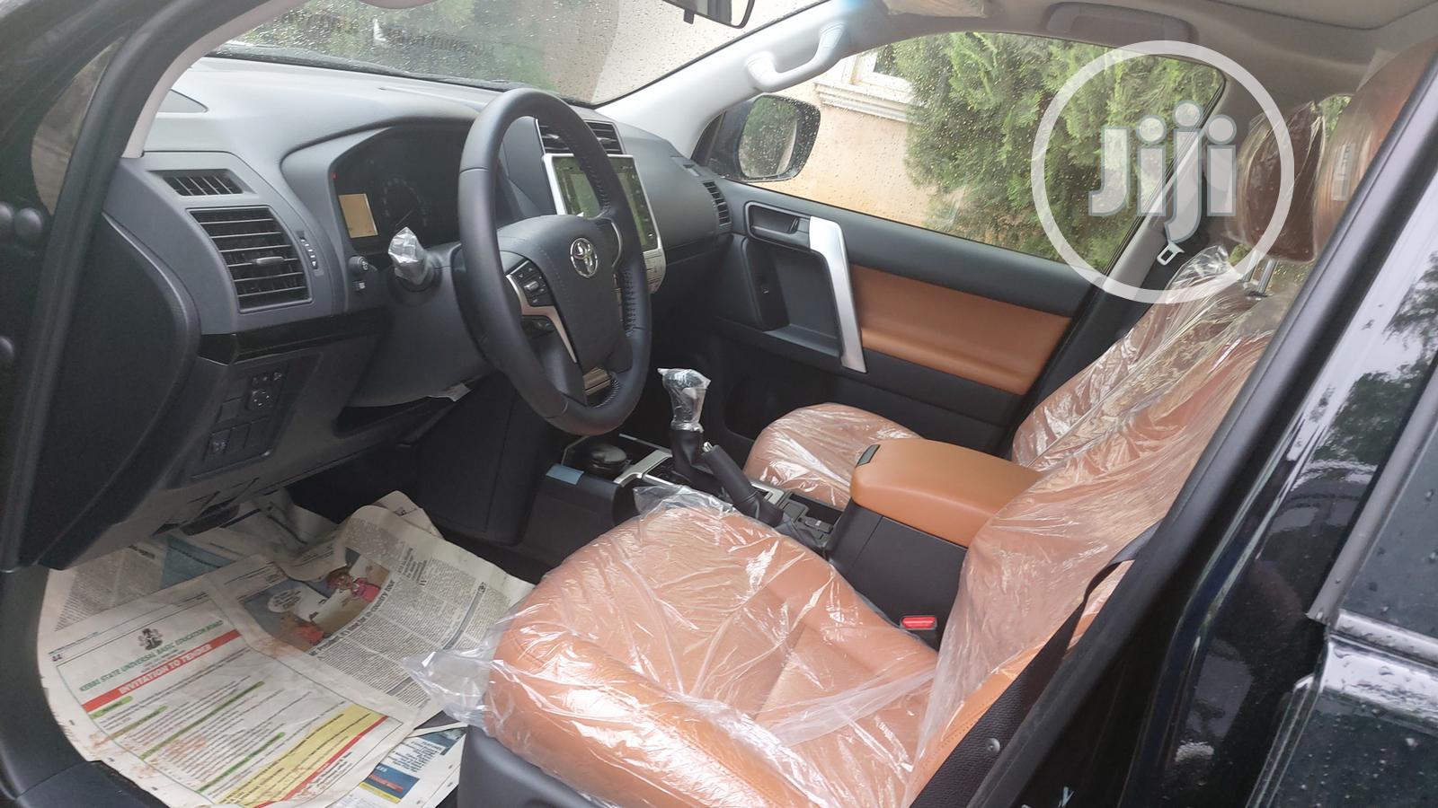 New Toyota Land Cruiser Prado 2020 Black   Cars for sale in Kado, Abuja (FCT) State, Nigeria