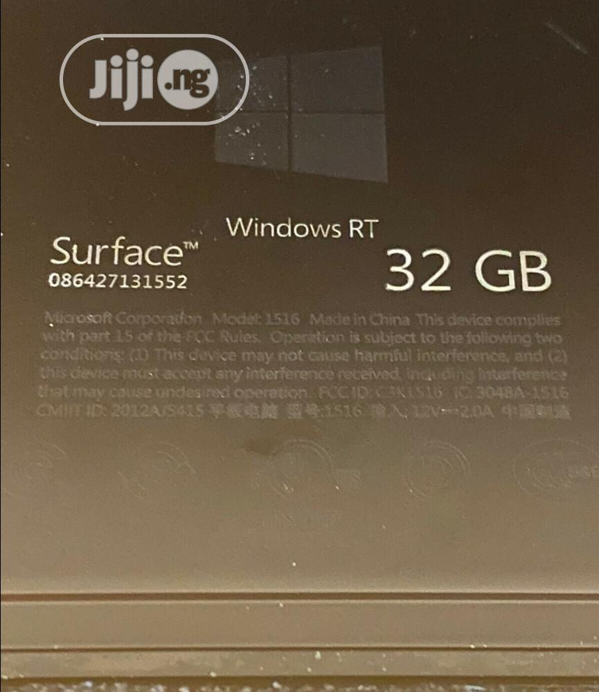 Microsoft Surface 32 GB Black | Tablets for sale in Warri, Delta State, Nigeria