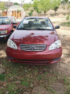 Toyota Corolla 2004 Red   Cars for sale in Abuja (FCT) State, Galadimawa