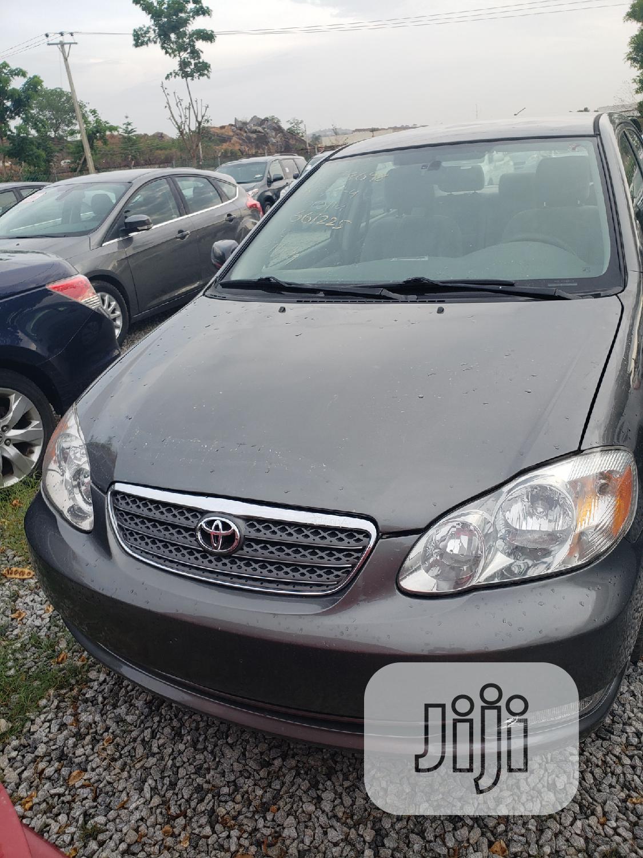Toyota Corolla 2004 Gray | Cars for sale in Galadimawa, Abuja (FCT) State, Nigeria
