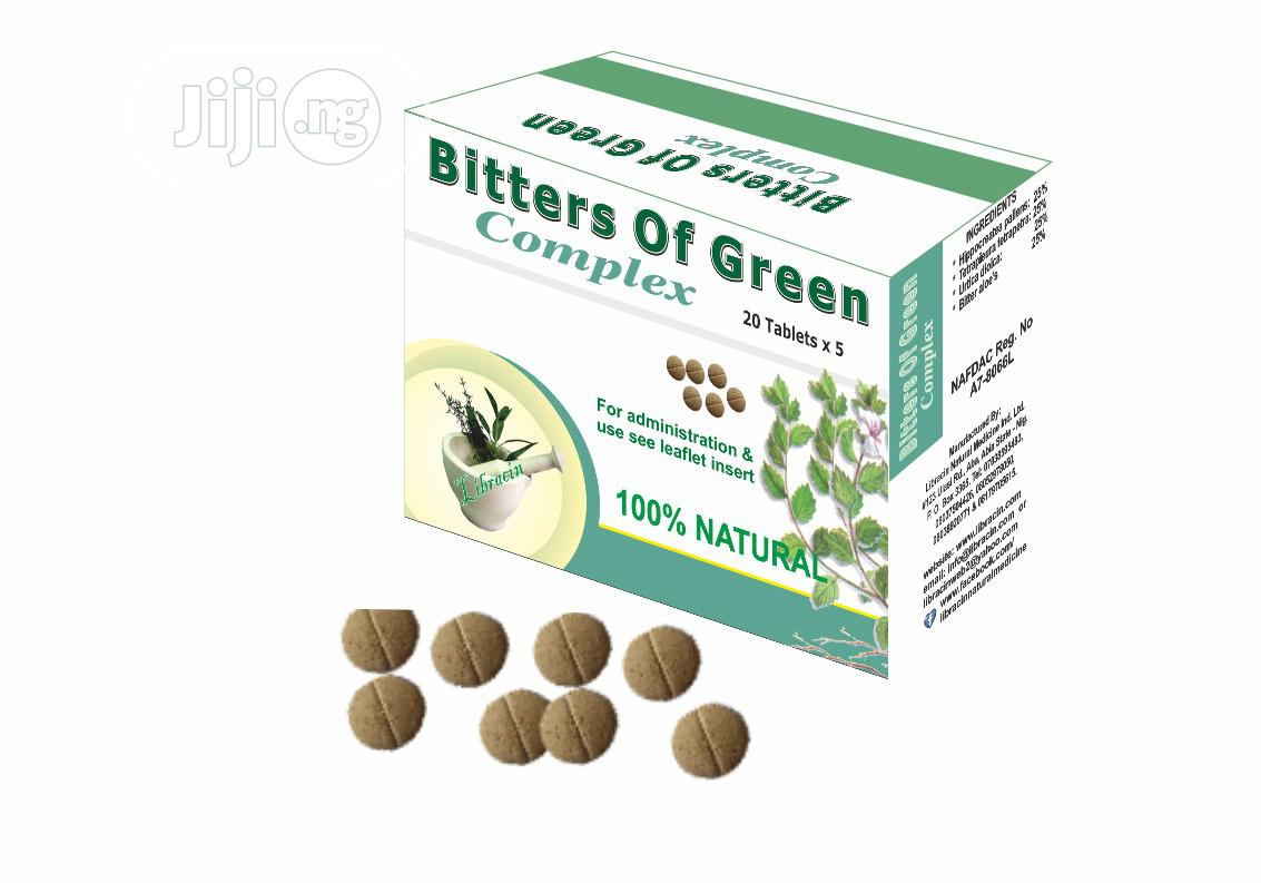 Bitters of Greem Complex Is Treaditionally Used to Treat Stomach Probl
