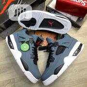 **2020 JORDAN 4 DARK GREY WHITE Size 40-45 | Shoes for sale in Lagos State, Lagos Island