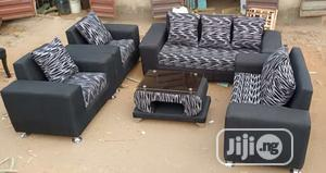 Modern 7 Seaters Sofas & Center Table | Furniture for sale in Lagos State, Alimosho