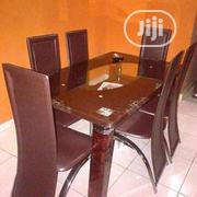 Glass Dining With Six Chair | Furniture for sale in Lagos State, Ojo