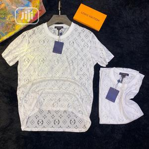 Luxury Louis Vuitton Roundneck T-Shirt Available in Store | Clothing for sale in Lagos State, Lagos Island (Eko)