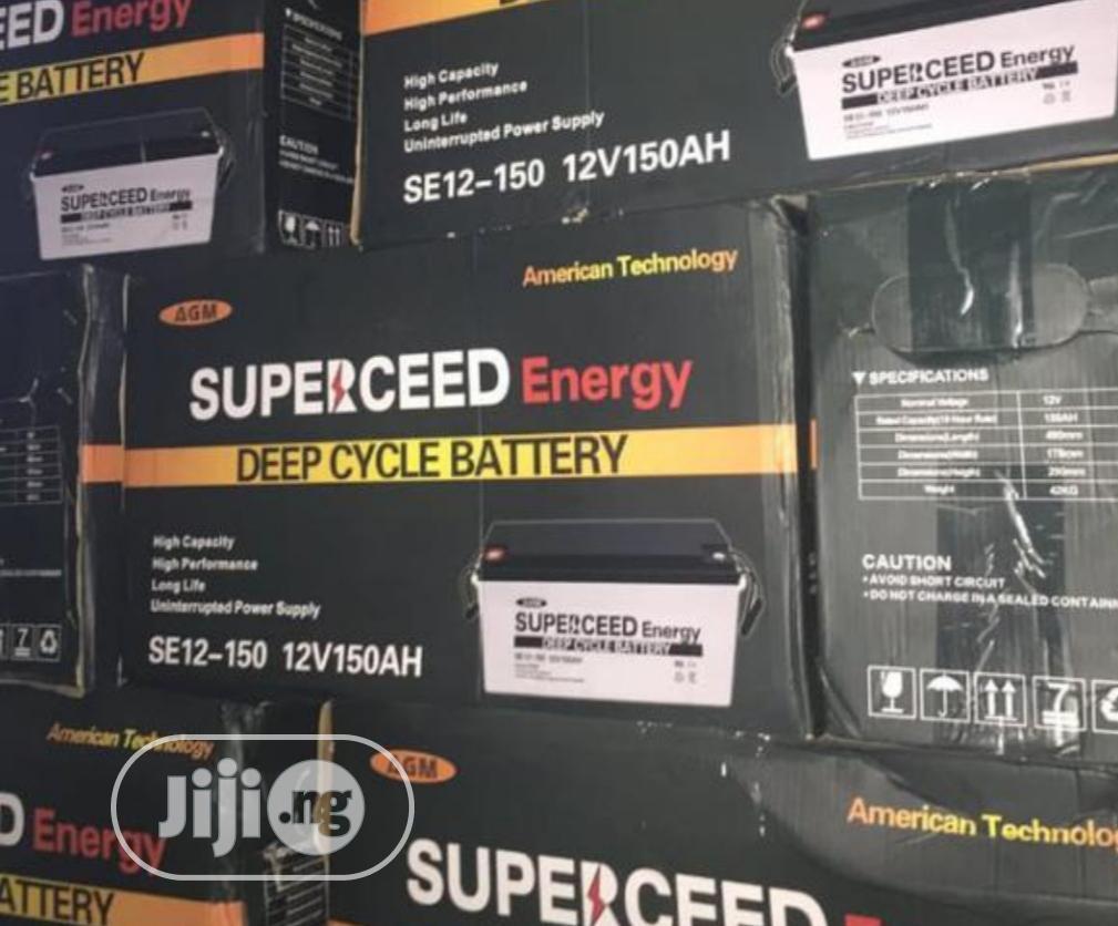 Superceed 150ah 12v Battery
