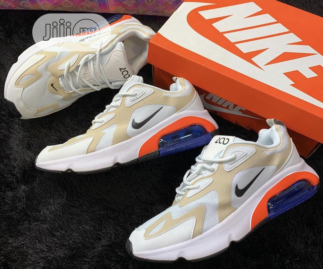 Nike Air Max 200 Cream Now Available in Store | Shoes for sale in Lagos Island, Lagos State, Nigeria