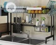 Stainless Steel Dish Drainer Sink Organiser | Kitchen & Dining for sale in Lagos State, Lagos Island