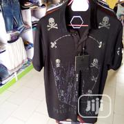 Phillip Plein Des Colar Neck Shirt | Clothing for sale in Lagos State, Ajah