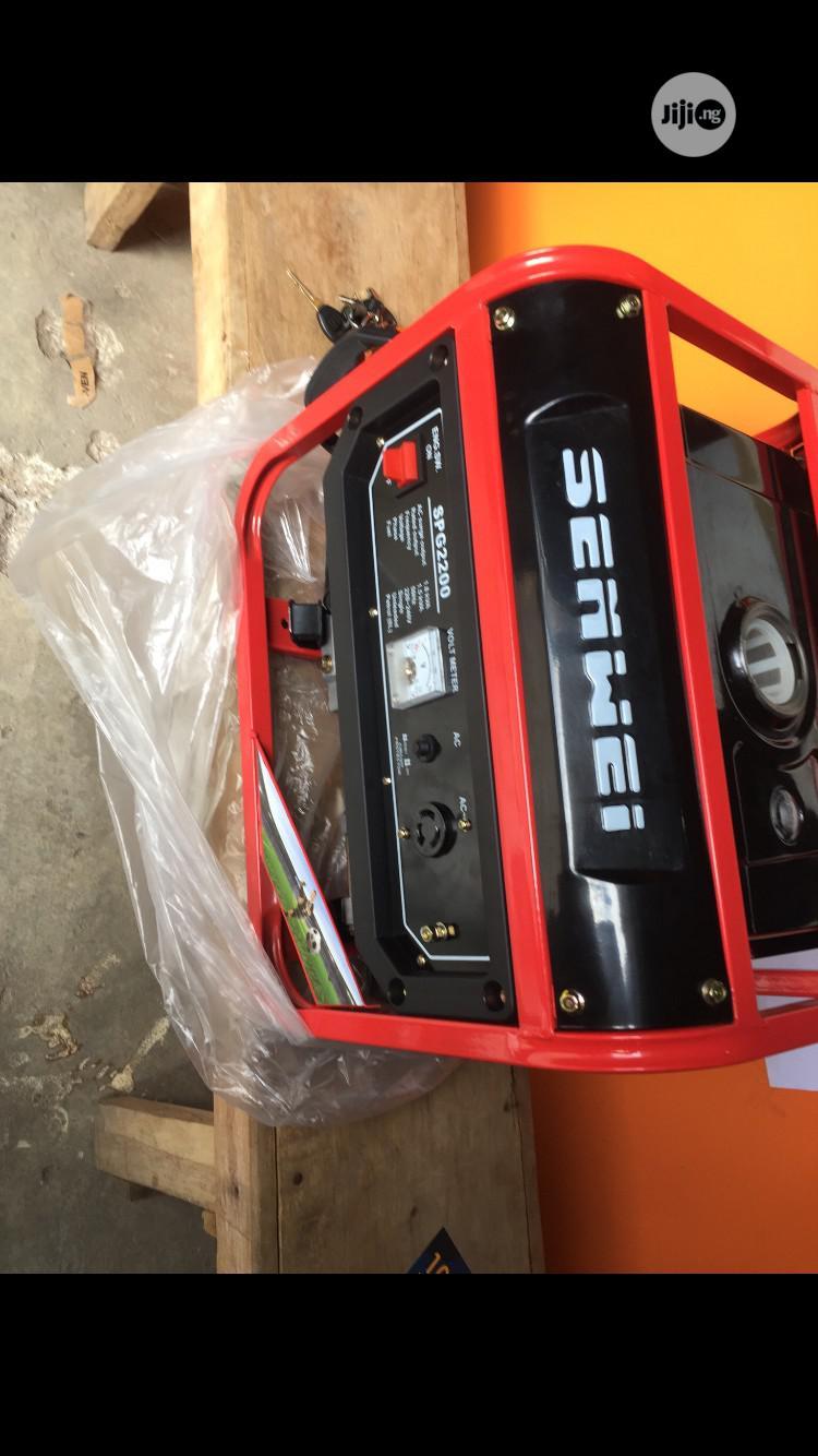 1.8kva Elepaq Senwei Generator | Electrical Equipment for sale in Amuwo-Odofin, Lagos State, Nigeria