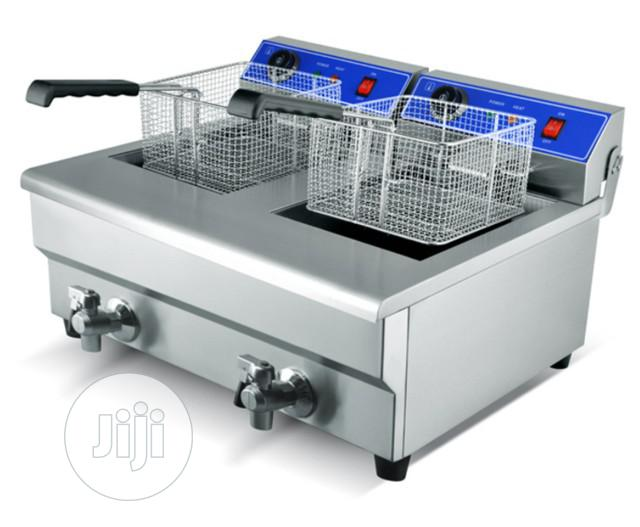 10litres Double Gas Deep Fryer