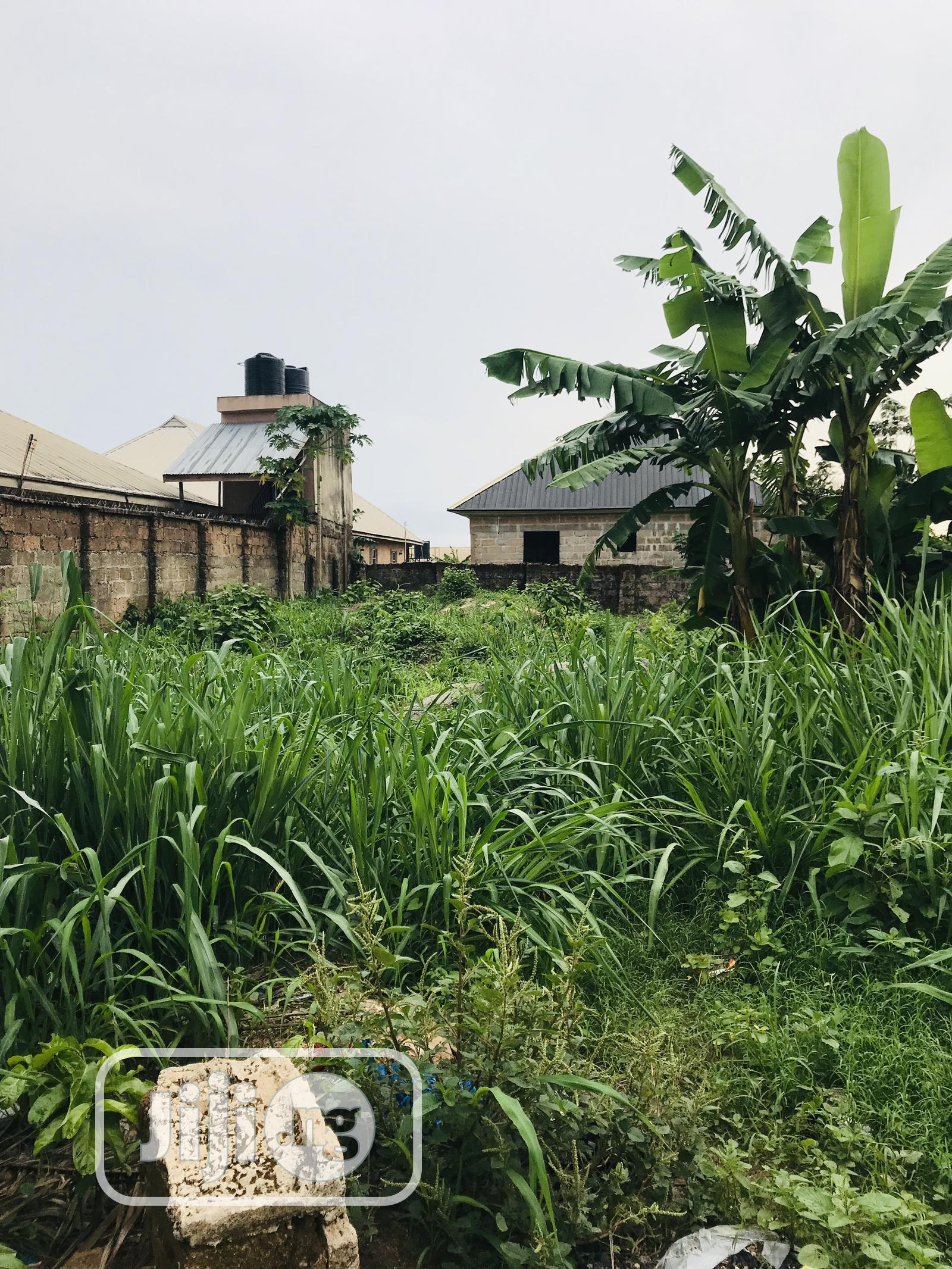 Nice and Genuine Plot of Land Measuring 100x100ft in Ekae for Sale
