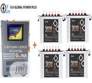 Genus 3.5kva/48V Inverter With Genus 220ah Invomax Tubular Battery | Electrical Equipment for sale in Lagos State, Ikeja
