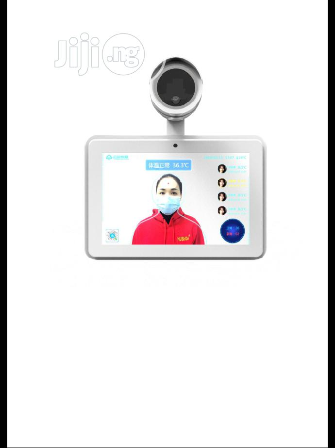 """10.1"""" Thermal Imaging Body Temperature Measurement Face Recognition"""