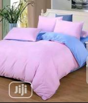 Quality Plain Duvet, Bedsheet With 4 Pillow Cases-6*7 | Home Accessories for sale in Lagos State, Ikeja