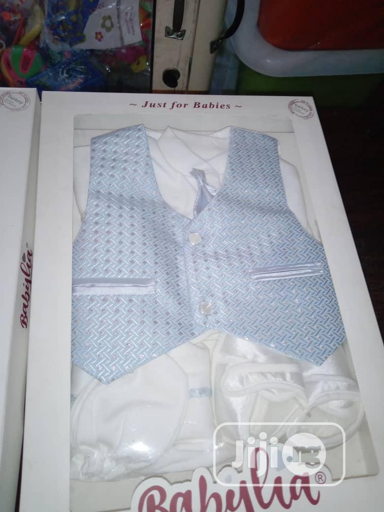 Babylia Baby Boy Christening Cloth