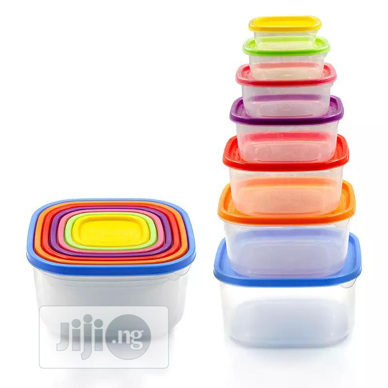 7in1 Rainbow Storage Containers | Kitchen & Dining for sale in Ikeja, Lagos State, Nigeria