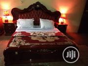 Used Royal Bed With Mirror Counsel For Sale | Furniture for sale in Lagos State, Ojodu