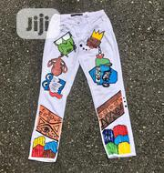 Jeans Designed Trouser | Clothing for sale in Rivers State, Port-Harcourt