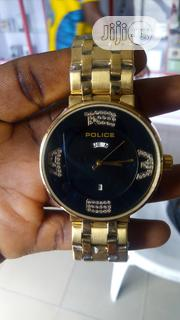 Gold Chain Police Watch | Watches for sale in Rivers State, Port-Harcourt