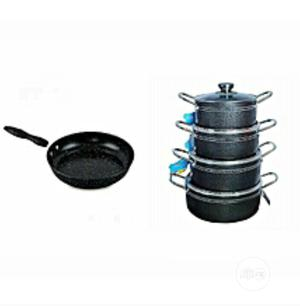 Set of 4 Pot With Fry Pan   Kitchen & Dining for sale in Lagos State, Lagos Island (Eko)