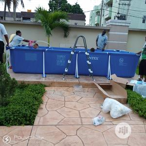 Retcagula 15 Feet Swimming Pool With Ladder | Sports Equipment for sale in Lagos State, Surulere