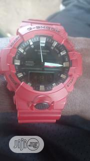 Red G Shock Casio Analog And Digital. Call | Watches for sale in Osun State, Ife
