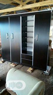 4face Wardrobe With Shoe Rack | Furniture for sale in Lagos State, Ikeja