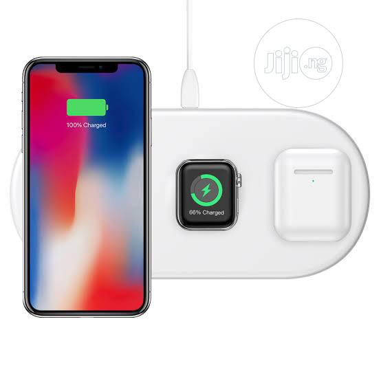 Archive: Baseus 3-In-1 Wireless Charger Pad for Apple Watch / iPhones/ Airpods